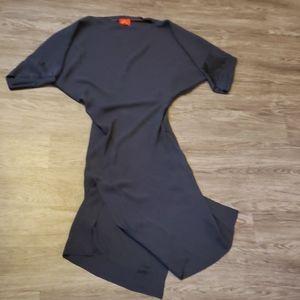 Vivienne Westwood Gray Viscose Blend Drape Dress